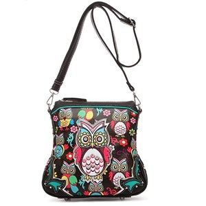 Cowgirl Trendy CrossBody Concealed Weapon Bag